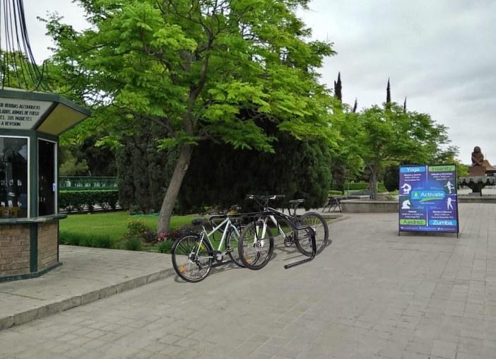 Parque Xochipilli 1 interior - Simulación Estacionamiento