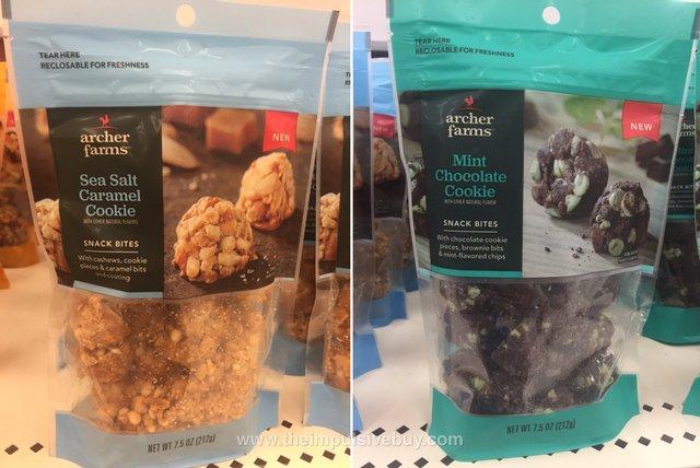 Archer Farms Snack Bites (Sea Salt Caramel and Mint Chocolate Cookie)