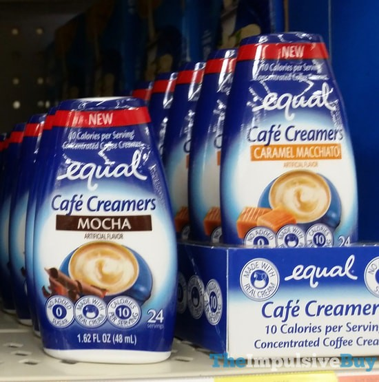 Equal Cafe Creamers (Mocha and Caramel Macchiato)