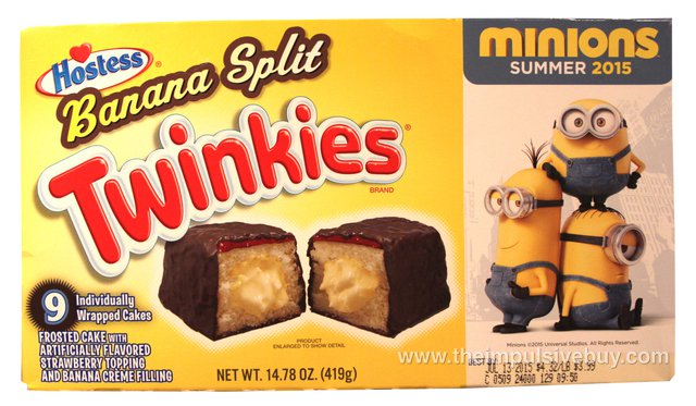 Hostess Limited Edition Banana Split Twinkies