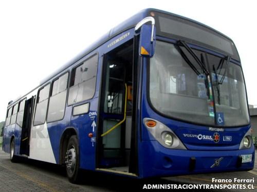 Transantiago - Subus Chile - Marcopolo Gran Viale / Volvo (FLXP10)