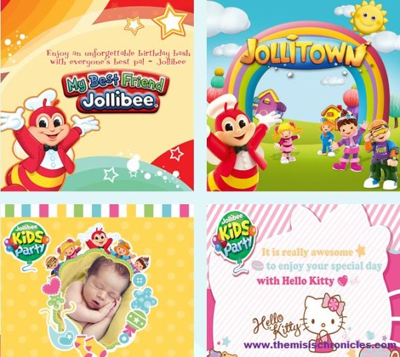 Simple Milestones Become Extraordinary With A Jollibee Kids Party - Birthday invitation jollibee