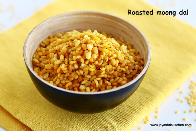 roasted-moong dal