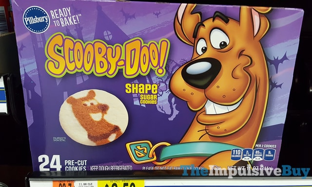 Pillsbury Scooby-Doo! Shape Sugar Cookies