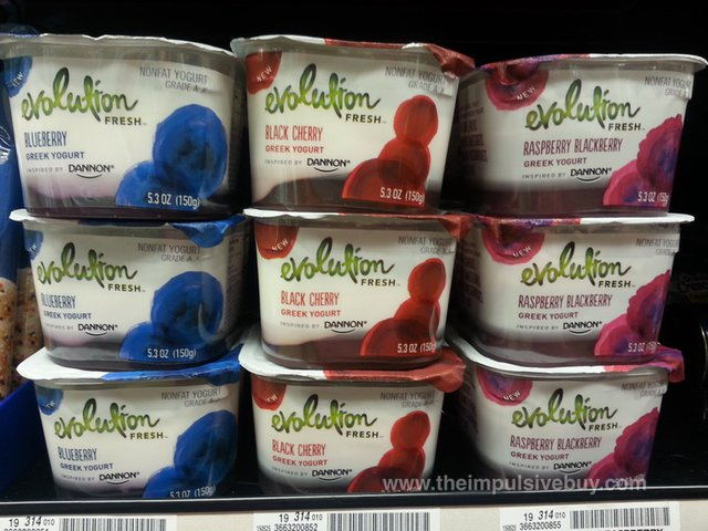 Evolution Fresh Greek Yogurt Inspired by Dannon