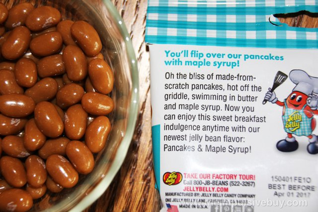 Jelly Belly Pancakes & Maple Syrup Jelly Beans 2