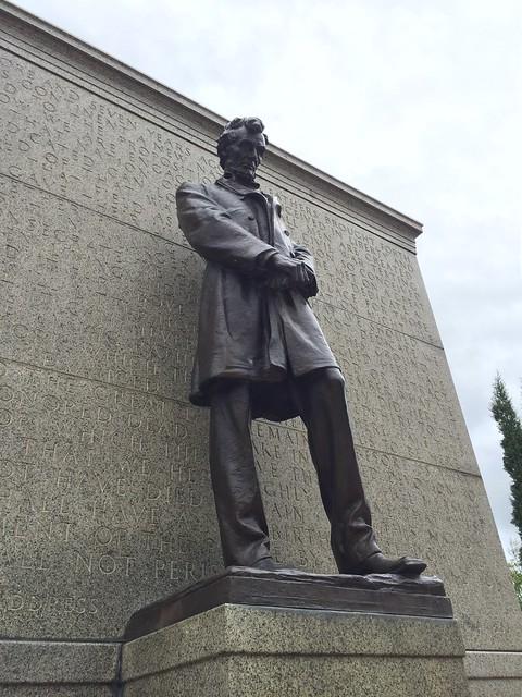 Lincoln, Nebraska -- Abraham Lincoln Statue