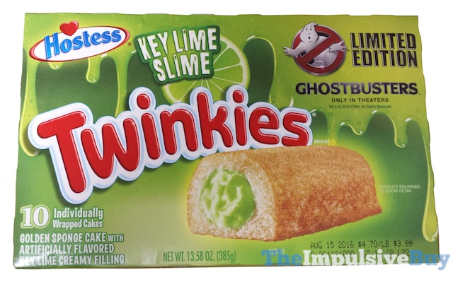 Hostess Limited Edition Key Lime Slime Twinkies