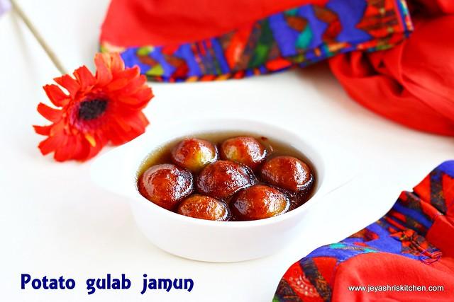 potato-gulab jamun