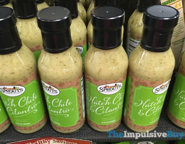 Sprouts Hatch Chile & Cilantro Dressing