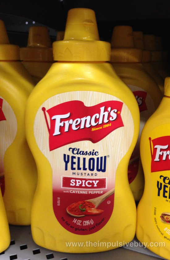 French's Classic Yellow Mustard Spicy with Cayenne Pepper