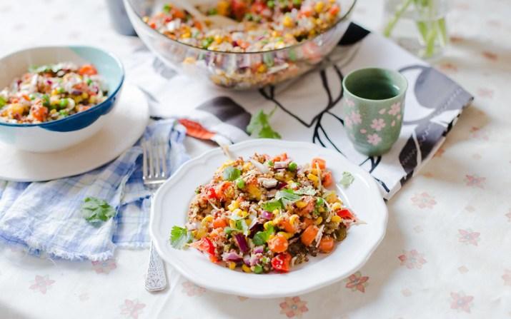 Quinoa, Mango and Carrot Salad