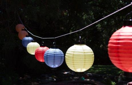Lanterns ready