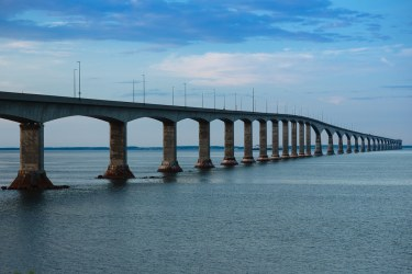 Confederation Bridge at Night