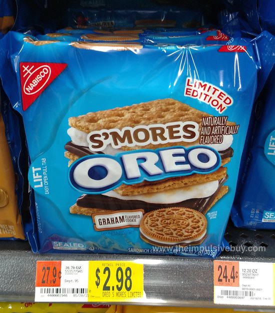 Nabisco Limited Edition S'mores Oreo Cookies