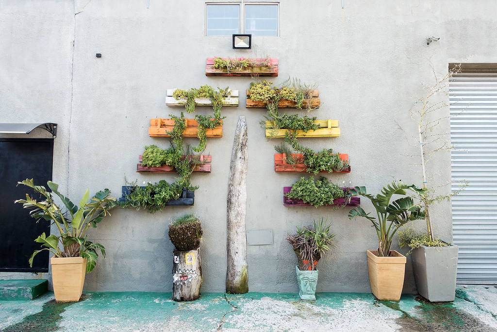 Murals aren't the only way to improve the neighborhood.