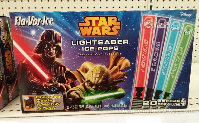 Fla-Vor-Ice Star Wars Lightsaber Ice Pops