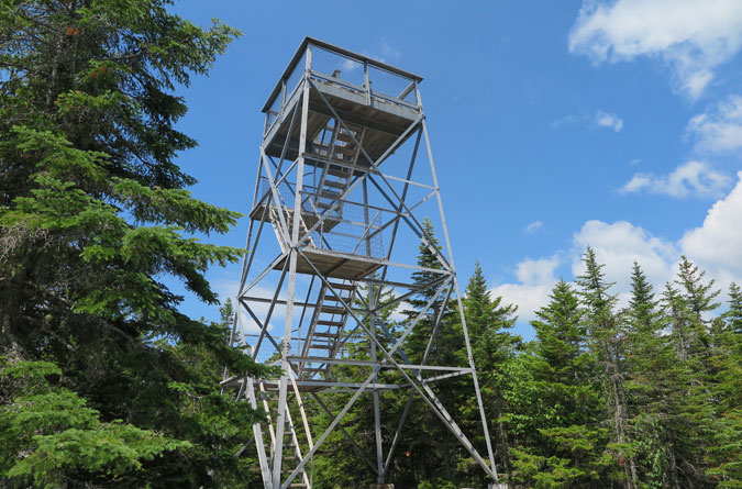 Bald Mountain Maine Observation Tower
