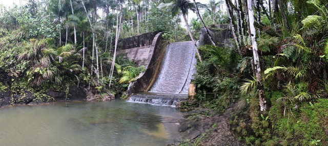 Picture from the Fonte Dam