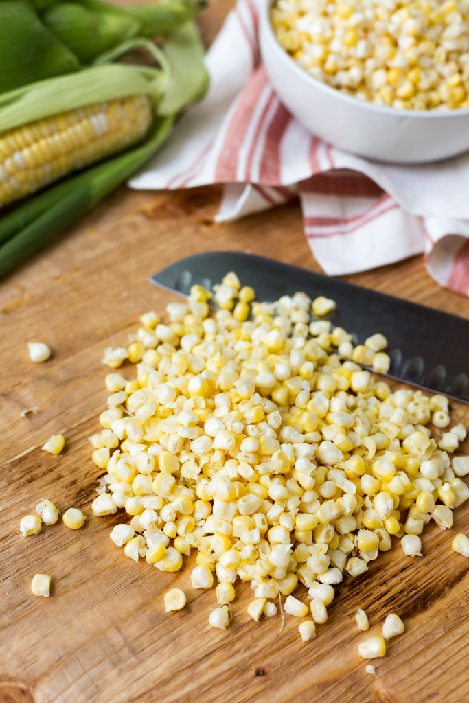 New Jersey bi-color corn kernels