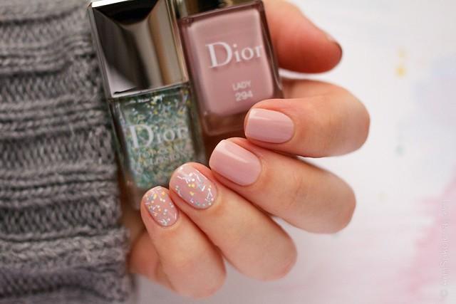 02 Dior #294 Lady + Dior Top Coat Eclosion
