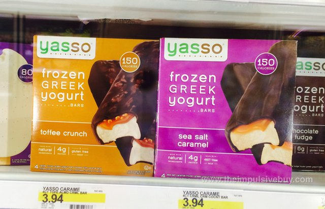 Yasso Frozen Greek Yogurt Candy Bars