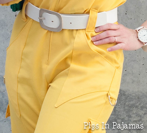 April O'Neil Cosplay Detail