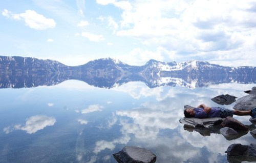 Cleetwood Trail, Crater Lake.