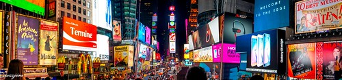 The night view of Times Square 06, NY, USA