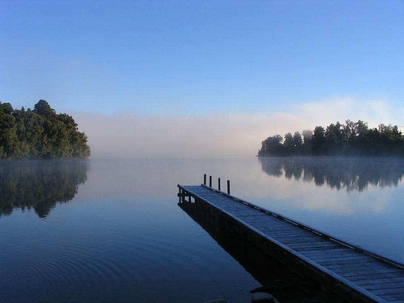Imagen gratis de lago mapourika