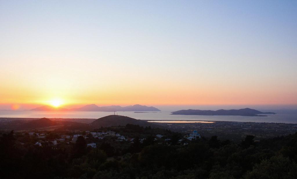 udsigt over Kos og Kalymnos, Grækenland