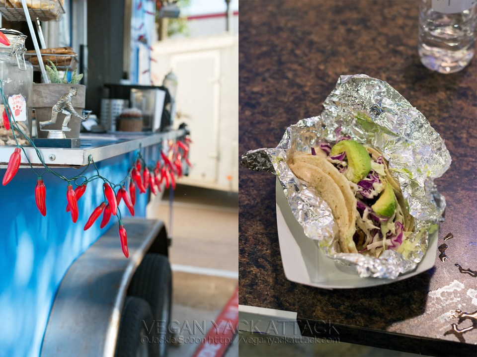 Vegan Nom Taco Cart - Austin TX