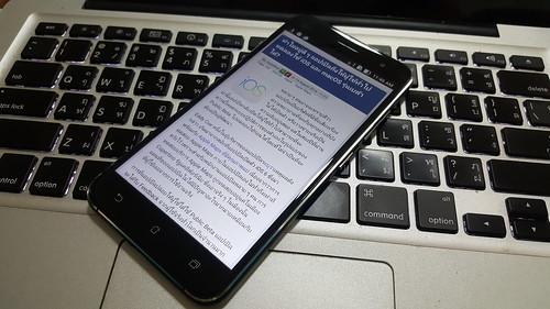 ใช้ ASUS Zenfone 3 ZE520KL ใช้งานทั่วๆ ไป
