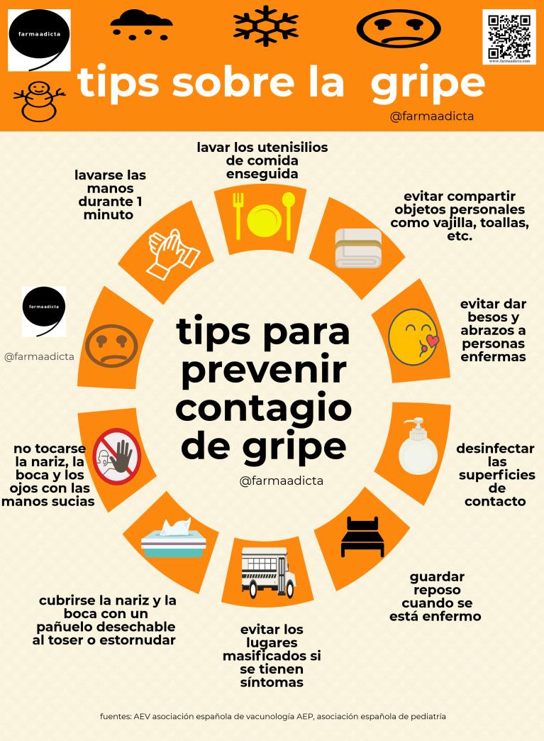 consejos sobre la gripe