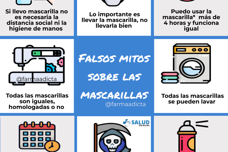 Falsos mitos mascarillas