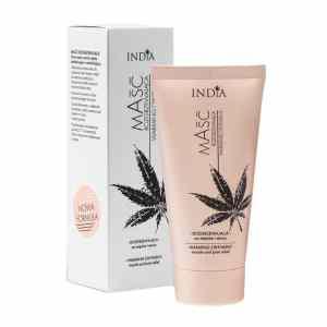 India Cosmetics Unguento de cáñamo efecto calor 50ml