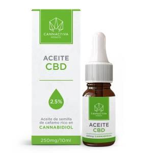 Cannactiva 2,5% Aceite CBD