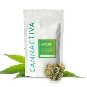 Pinneaple Kush Flores CBD 14% Cannactiva Meditate 10 grs