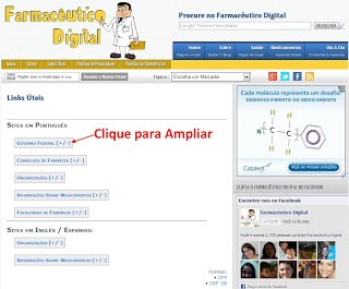 Links Uteis Farmaceutico Digital