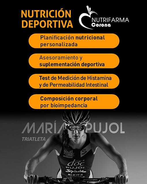 Farmacia Corona Servicio de Nutrición Deportiva