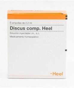 DISCUS COMPOSITU 5 AMPOLLAS HEEL