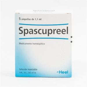 SPASCUPREEL 5 AMPOLLAS HEEL