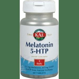 MELATONIN 1,9 + 5 HTP - ACCIÓN RETARDADA 60 COMPRIMÍDOS Kal