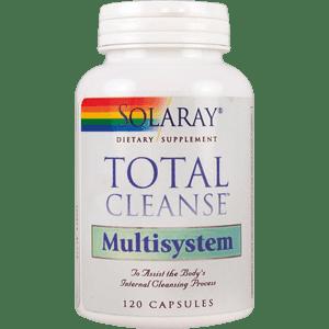 TOTAL CLEANSE MULTISYSTEM 120 CÁPSULAS Solaray