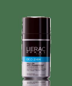 DÉO 24 H Hombre - Desodorante Roll-On Antitranspirante Lierac