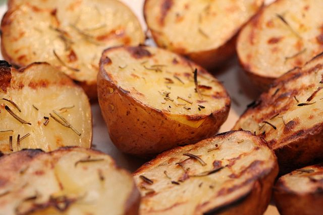 patatas a la parrilla