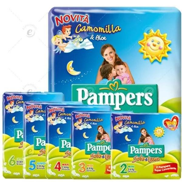 PAMPERS SOLE E LUNA - PANNOLINI - 1