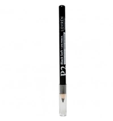 Lovren P2 matita occhi nera morbida
