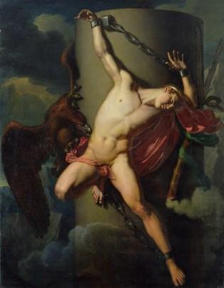 Jean Louis Cesar Lair: The torture of Prometheus