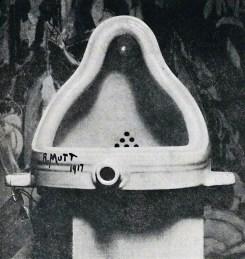 Marcel Duchamp: Fountain, 1917.